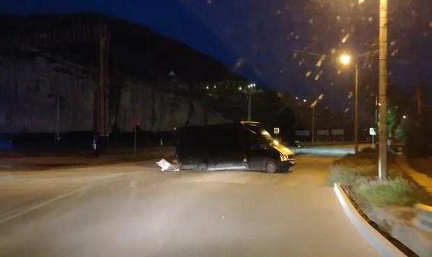 Жуткое ночное ДТП в Инкермане
