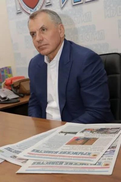 Интервью председателя Госсовета РК Владимира Константинова газете «Крымские известия»