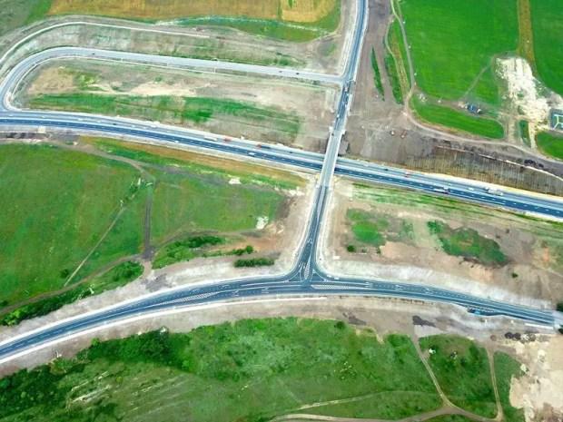 На трассе «Таврида» запустили движение по развязке Донское – Мазанка, под Симферополем