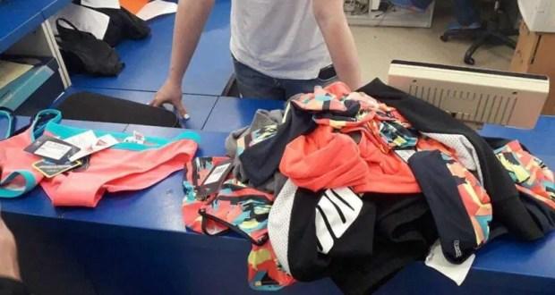 В Ялте по подозрению в краже из магазина одежды по «горячим следам» задержана супружеская пара