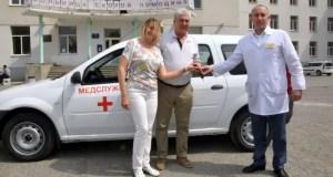 Шахматист Сергей Карякин передал в дар автомобиль Симферопольской больнице скорой медпомощи №6