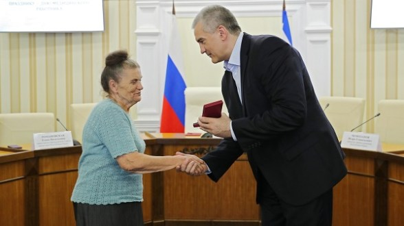 В Крыму чествуют медиков