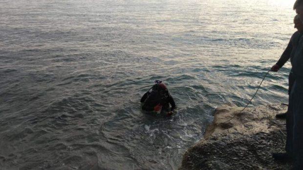 В акватории дикого пляжа в посёлке Каче водолазы обнаружили боеприпасы времён ВОВ