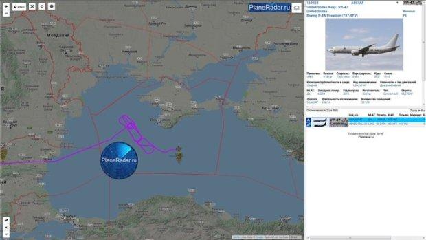 Очередной авиаперехват вблизи Черноморских границ России