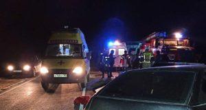 В ночном ДТП в Сакском районе Крыма погиб человек