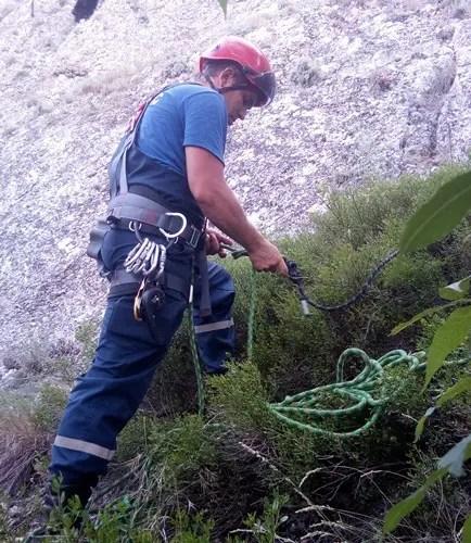 ЧП в районе горы «Сюрюк-Кая» - спасали туриста