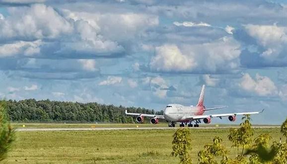 На борту самолета «Екатеринбург – Симферополь» возникла нештатная ситуация. Зато посадка прошла штатно