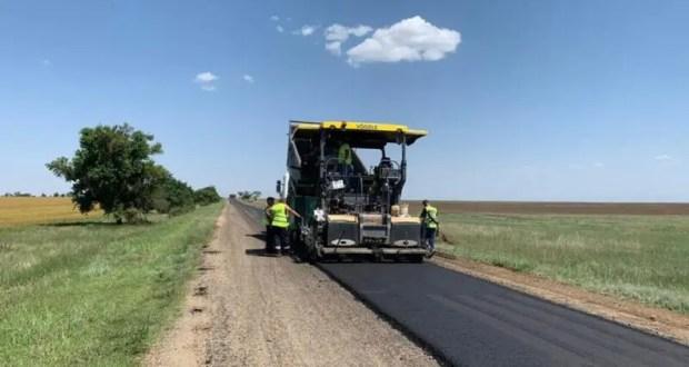 До начала зимы в Крыму отремонтируют свыше 420 км дорог