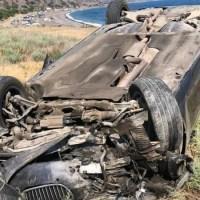 «Летать» по крымским дорогам не надо. Спасатели рассказали о ДТП на извилистой трассе «Алушта – Судак»