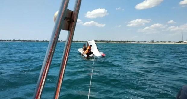 Одну унесло в море на надувном матрасе, двоих - на катамаране. В Евпатории спасали женщин