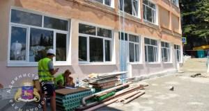 В Ялте капитально ремонтируют школы