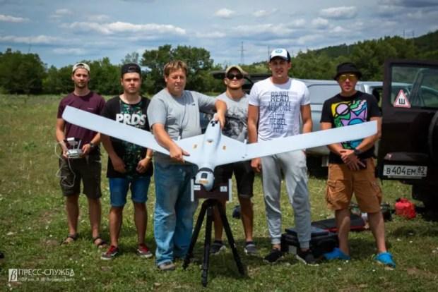 В Крыму впервые провели мониторинг водоохранных зон с помощью беспилотника самолетного типа