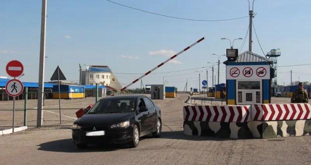 На границе Крыма с Украиной продолжают действовать ограничения