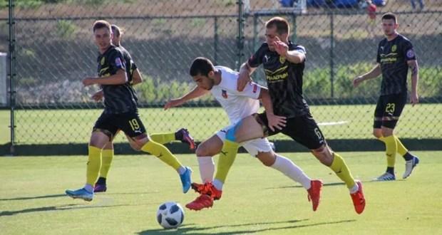 Состоялись первые полуфинальные матчи розыгрыша Кубка Крымского футбольного союза-2019/20