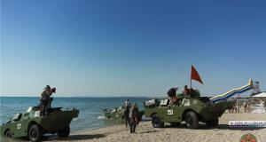 Керченский пролив снова будут форсировать БРДМ