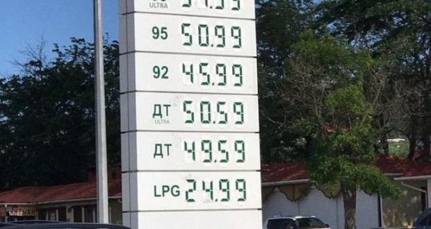 Бензин в Крыму продолжает локально дорожать третью неделю подряд