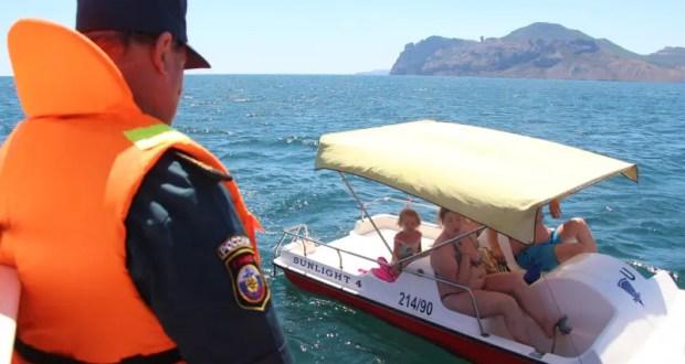 Сотрудники Госинспекции по маломерным судам проводят профилактические рейды на море в Крыму