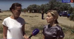 Наталья Поклонская возмущена «платным пляжем» в Сакском районе