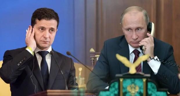 Владимир Путин провел телефонный разговор с Владимиром Зеленским
