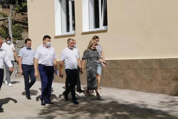 Владимир Константинов посетил с рабочей поездкой Ялту