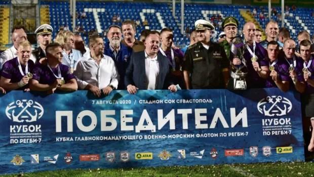 Итог Кубка Главнокомандующего ВМФ по регби в Севастополе: регбисты смогут попадать в Спортивные роты