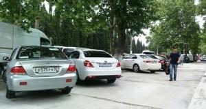 В Ялтинском регионе функционируют более двух десятков платных парковок