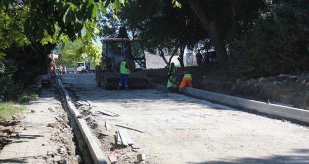 В минтрансе Крыма назвали самые распространенные при ремонте дорог нарушения в Симферополе