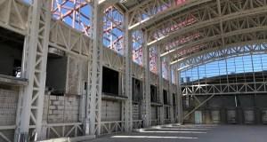 Строители спортивного центра «Крым-Спорт» в Симферополе завершили все работы по стяжке здания
