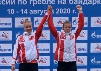 Анастасия Долгова из Севастополя - чемпионка России по гребле на байдарках и каноэ