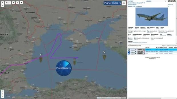 Очередные авиаперехваты американских разведчиков над Черным морем
