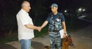 Симферопольский парк имени Ю.А. Гагарина по ночам патрулируют сотрудники ППС