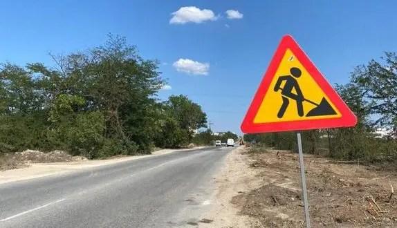 В Евпатории идёт ремонт дорожного полотна на четырёх улицах