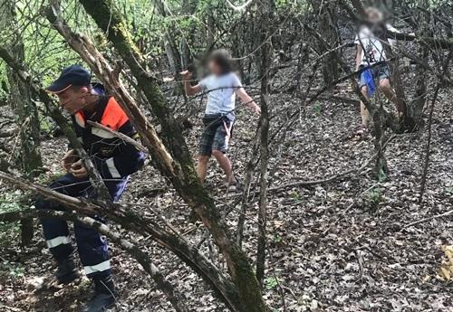 «КРЫМ-СПАС» помог женщине с ребенком в горно-лесной зоне в Бахчисарайском районе