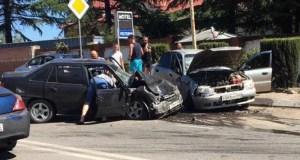 ДТП в Ялте: шестеро пострадавших, в том число двое детей
