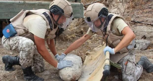 138 взрывоопасных предметов времён Великой Отечественной войны уничтожены на востоке Крыма