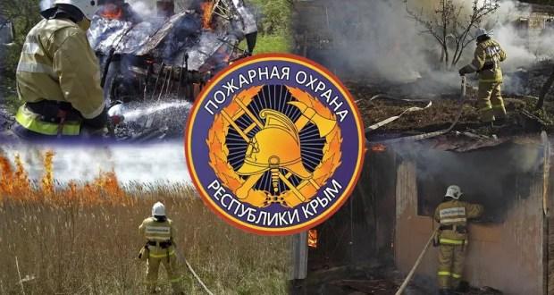 В Раздольненском районе Крыма горела лесополоса… И еще пять пожаров воскресенья