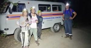 Спасательная операция в районе горы Аю-Даг: искали туристов