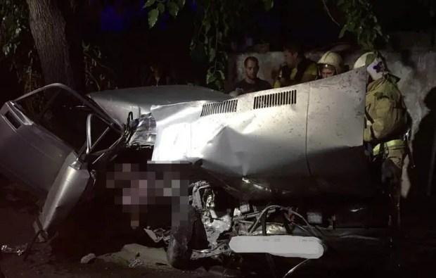 Ночное смертельное ДТП в Симферополе: погиб 19-летний парень