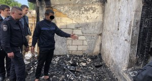 Убил сторожа оптовой базы, а чтобы скрыть следы преступления, устроил пожар. Преступление в Симферополе