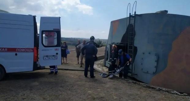 ЧП в Севастополе: на 30-й береговой батарее пострадал ребёнок
