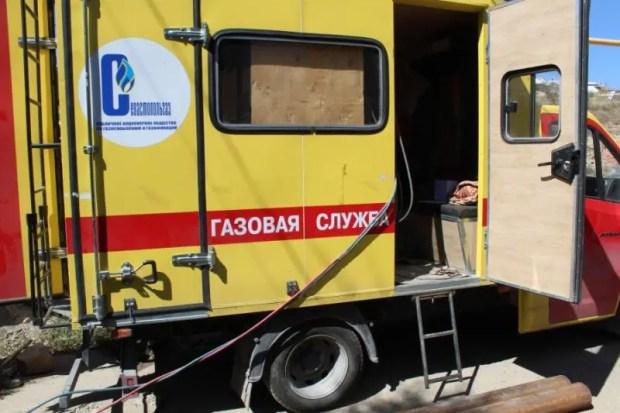 Севастопольской Любимовке дали газ
