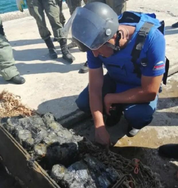 МЧС России продолжает работы по разминированию теплохода «Жан Жорес»