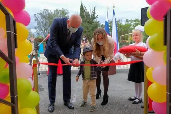 В Судаке открыли новый модульный детский сад
