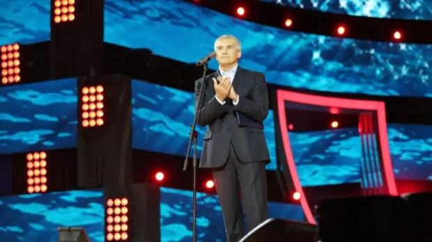 Глава Крыма Сергей Аксёнов поприветствовал финалистов конкурса «Детская Новая волна 2020»
