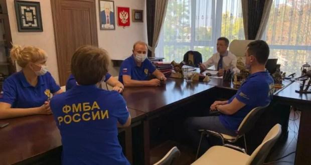 Специалисты Федерального медико-биологического агентства России - в инфекционных госпиталях Крыма