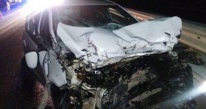Вечернее ДТП на трассе «Таврида»: столкнулись грузовик и легковое авто