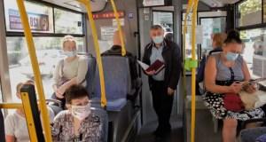 В Ялте - рейды по соблюдению масочного режима в общественном транспорте
