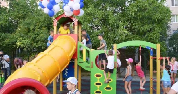 Новые детские площадки для маленьких симферопольцев. В администрации города уточнили адреса