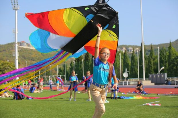 Состоялся III фестиваль воздушных змеев «Яркое небо «Артека»