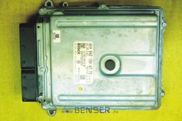 Где можно отремонтировать ЭБУ двигателя Мерседес